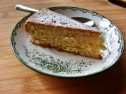 Coconut-Orange Cake - egg-white free