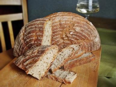 Half rye sourdough bread