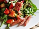 Salad with Figs and White Cheese