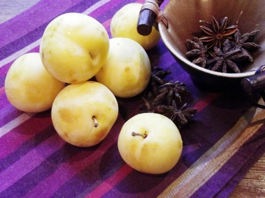 Golden Plums and Star Anise
