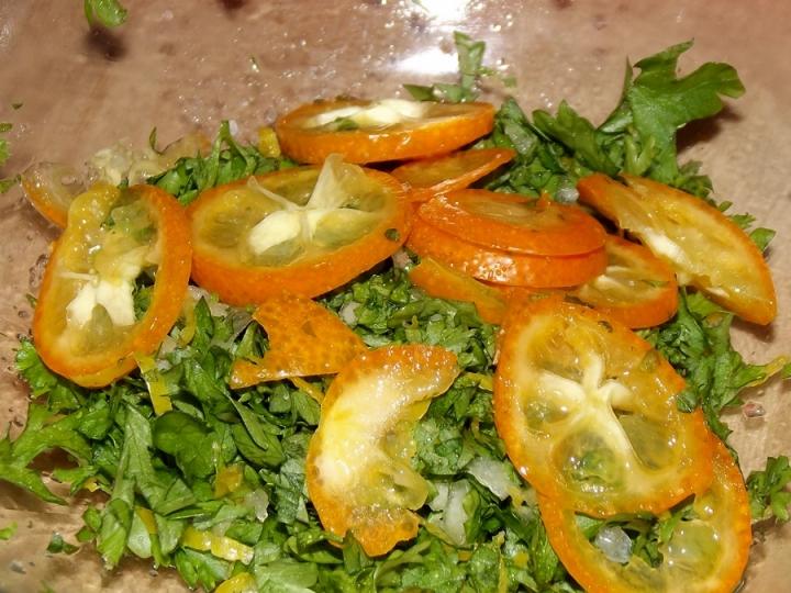 Gremolata with Kumquats