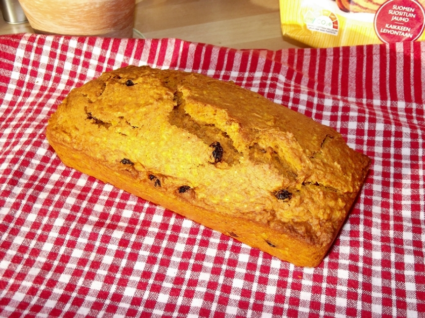 Pumpkin and Sultana Bread