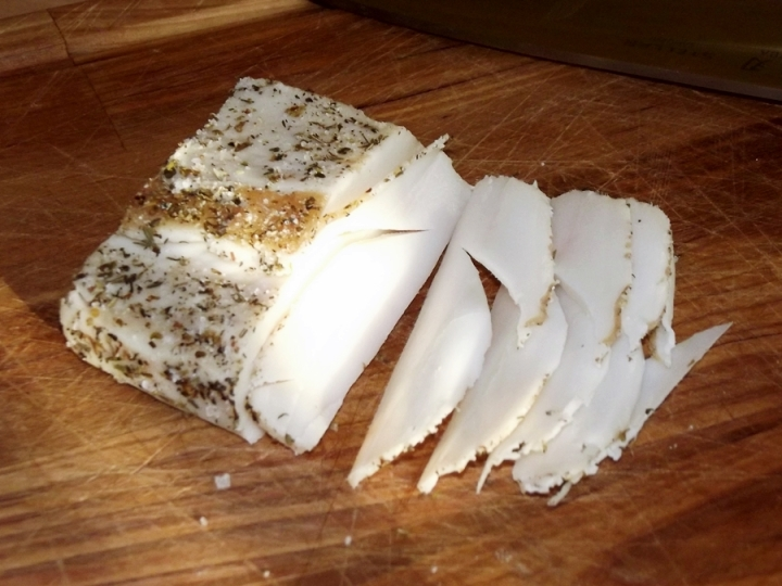 Home Cured Lardo (Salo)