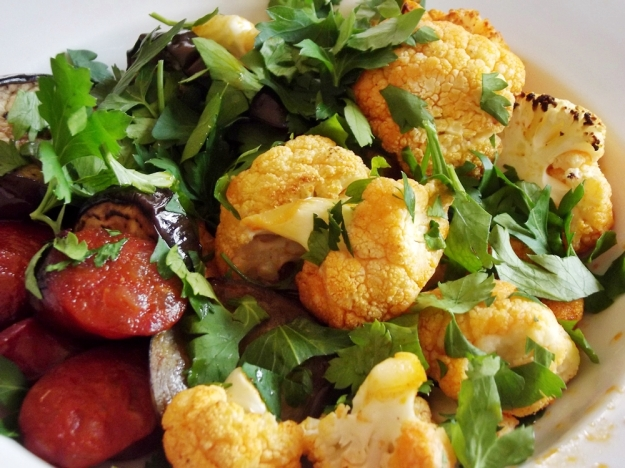 Cauliflower and Chorizo