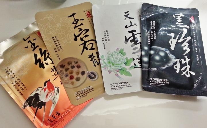 Taiwanese Lovemore Sheet Masks